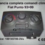 Plancia completa comandi clima Fiat Punto 93>99