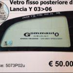Vetro fisso azzurrato posteriore Dx  Lancia Y  03>06