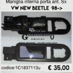 Maniglia interna porta anteriore sx Volkswagen New Beetle 98>