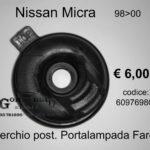 Coperchio posteriore portalampada Faro Sx Nissan Micra 98>00