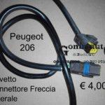 Peugeot 206 98>03 Cavo Cavetto Connettore Freccia Fanale laterale  6325.73