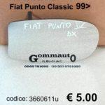 Ricambio specchio retrovisore Dx Fiat Punto Classic 99>