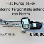 Motorino  Tergicristallo anteriore con Piastra  Fiat Punto 93>99