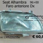 Faro anteriore Dx Seat Alhambra 96>00 Bosch