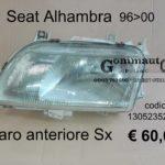 Faro anteriore Sx Seat Alhambra 96>00  Bosch 1305235254