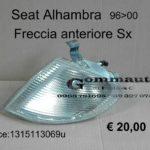 Freccia anteriore Sx Seat Alhambra 96>00