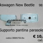 Volkswagen New Beetle 98> Supporto  Pantina parasole 3B0 857 561B