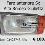Faro anteriore sx Alfa Romeo Giulietta 81>
