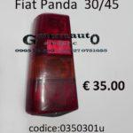 Fanale posteriore Sx Fiat Panda 30/45 80>86