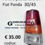 Fanale posteriore Dx Fiat Panda 30/45  80>86