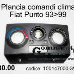 Plancia comandi clima Fiat Punto 93>99
