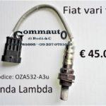 Sonda Lambda Fiat vari tipi