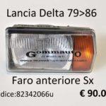 Faro anteriore Sx Lancia Delta 79>86