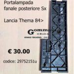 Portalampade fanale posteriore Sx Lancia Thema 84>