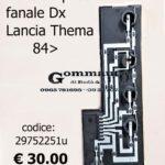 Portalampade fanale posteriore Dx Lancia Thema 84>