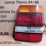 Fanale posteriore Dx con Portalampada Lancia Thema prima serie