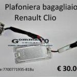 Plafoniera bagagliaio Renault Clio 90>96