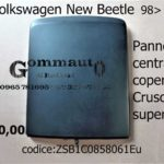 Pannello Centrale Cruscotto  superiore Volkswagen New Beetle 98>