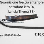 Guarnizione freccia anteriore sottofaro lato dx Lancia Thema 88>