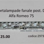 Portalampade fanale posteriore Dx Alfa Romeo 75