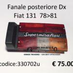 Fanale posteriore Dx Fiat 131  78>81