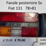 Fanale posteriore Sx Fiat 131 78>81