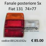 Fanale posteriore Sx Fiat 131 74>77