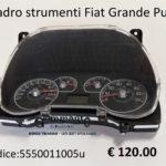 Quadro strumenti Fiat Grande Punto 05>13