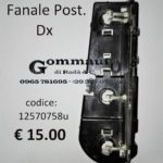 Portalampade fanale posteriore Dx Fiat Panda 30/45 80>86