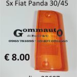 Trasparente anteriore Sx Fiat Panda 30/45  80>86