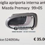 Maniglia apriporta anteriore Dx Mazda Premacy 99>05