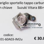 Impariglio sportello tappo carburante con chiave Suzuki Vitara 88>98