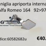 Maniglia apriporta interna Sx Alfa Romeo 164 92>97