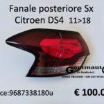 Fanale posteriore Sx Citroen DS4  11>18