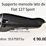 Supporto mensola lato Dx Fiat 127 Sport