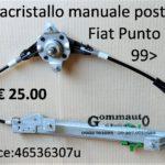 Alzacristallo manuale Fiat Punto 188 99>