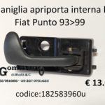Maniglia apriporta interna Dx Fiat Punto 93>99