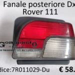 Fanale posteriore Dx Rover 111 89>