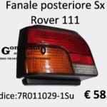 Fanale posteriore Sx Rover 111  89>