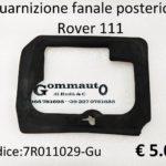 Guarnizione fanale posteriore  Rover 111