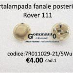 Portalampada fanale posteriore Rover 111 89>