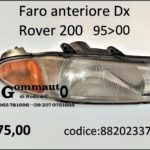 Faro  anteriore Dx Rover 2oo 95>00