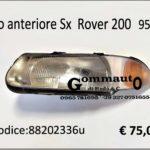 Faro  anteriore Sx Rover 2oo  95>00