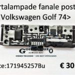 Portalampade fanale posteriore Sx Volkswagen Golf 74>