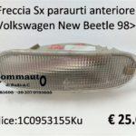 Freccia Sx paraurti anteriore Volkswagen New Beetle 98>