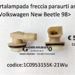 Portalampada freccia paraurti anteriore Volkswagen New Beetle 98>