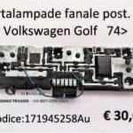 Portalampade fanale posteriore Dx Volkswagen Golf  74>