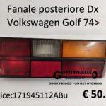 Fanale posteriore Dx Volkswagen Golf  74>