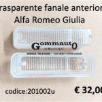 Trasparente fanale anteriore Alfa Romeo Giulia