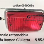 Fanale retronebbia Alfa Romeo Giulietta